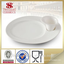 Wholesale snack plate and cup, unique chinese tableware
