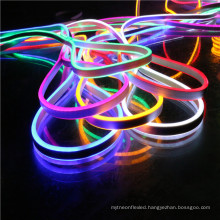 new product building IP68 double sided blue 2835 24v RGB led flexible neon tube