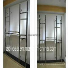 Возможность крепления на стене одежды Дисплей/вешалка для одежды/выставки для одежды (ад-130702)