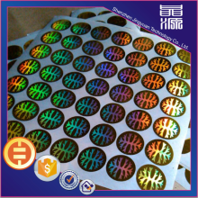 Colorful Holographic Security Label Sticker