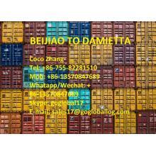 Shunde Beijiao Sea Freight to Egypt Damietta