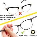 Custom Transparent Silicone Eyeglass Nose Pads