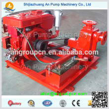 Centrifugal Auto Prime Dewatering Oil Transfer Self Suck Pump