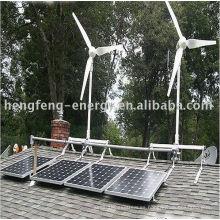 sistema generador de viento solar híbrido de apoyo