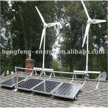 système de générateur soutien vent-solaire hybride