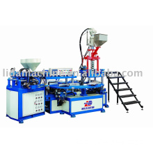 Three-color Disc Injection Machine for PVC/TR