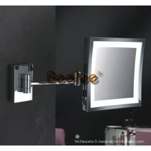 Miroir grossissant de mur de 10 pouces LED (M-8808)
