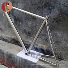 tubo de titanio sin costura utilizado para el marco de bicicleta mono