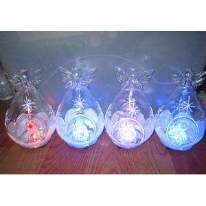 LED Christmas glass ball