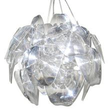 Modern zhongshan crystal chandelier glass pendant lighting for coffee shop