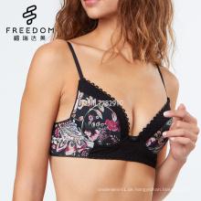 Angepasste sexy hot Desi Mädchen Foto Katrina Kaif neue xxx Fotos floral gepolsterte Bügel Push-up-BH