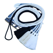 170cm Traditional tassel -  hand-woven   Double-headed tassel accessories hanging Polyester  Polyester Tassels   custom