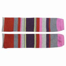 Леди мода шерсть хлопок нейлон трикотажные зимние теплые перчатки (YKY5422)