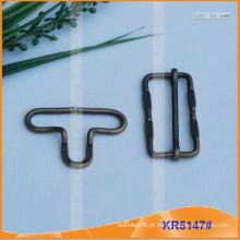 Metal Gourd Buckle para acessórios de vestuário KR5147