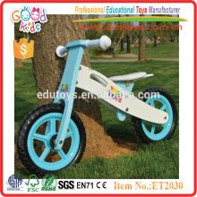 Brinquedos infantis para bicicleta balanceada de madeira com pneu EVA ou pneu pneumático
