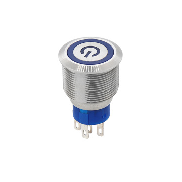 IP67 Logo Kuasa Kalis Air Push Button Switch