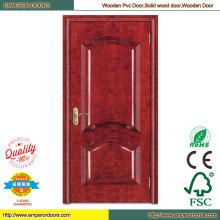 Panel de madera puerta barato puerta Interior puertas interiores de madera
