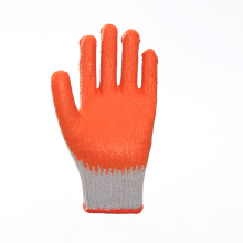Anti-aging Orange Latex Coated Safety Work Gloves