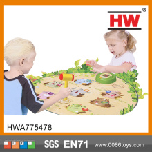 Hot Selling Plastic Educational Kids Whack A Mole Game Mat
