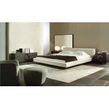Cama estilo italiano moderno conjunto de mobília do quarto