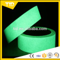 lower price luminescent film for safety guide, green grow tape in the dark