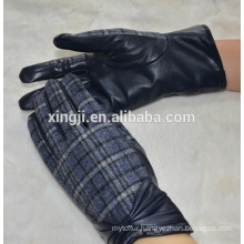winter ladies leather gloves