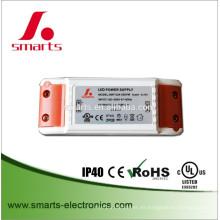 Fuente de alimentación de CA a CC 24w 12v 2A para tiras LED