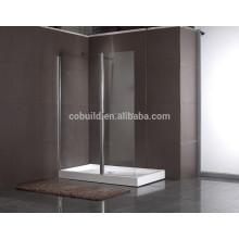 K-540 Puerta de bisagra con barra de soporte SS Stable UPC Caja de ducha estándar muebles de sala de ducha