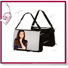 Big Size Sublimation Blank Shoulder Bag in Black Color