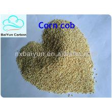 Кукурузные початки используют для удаления жира