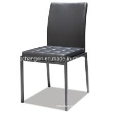 Nueva venta caliente moderno cuero silla de comedor