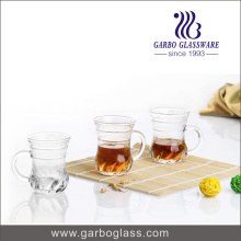 5oz Small Tea Glass Mugs with Handle (GB090105LX)