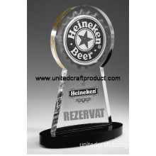 High Quality Glass Trophy and Awards