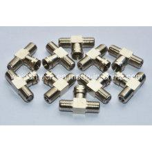 1X F Male to 2X F Female Splitter Connector