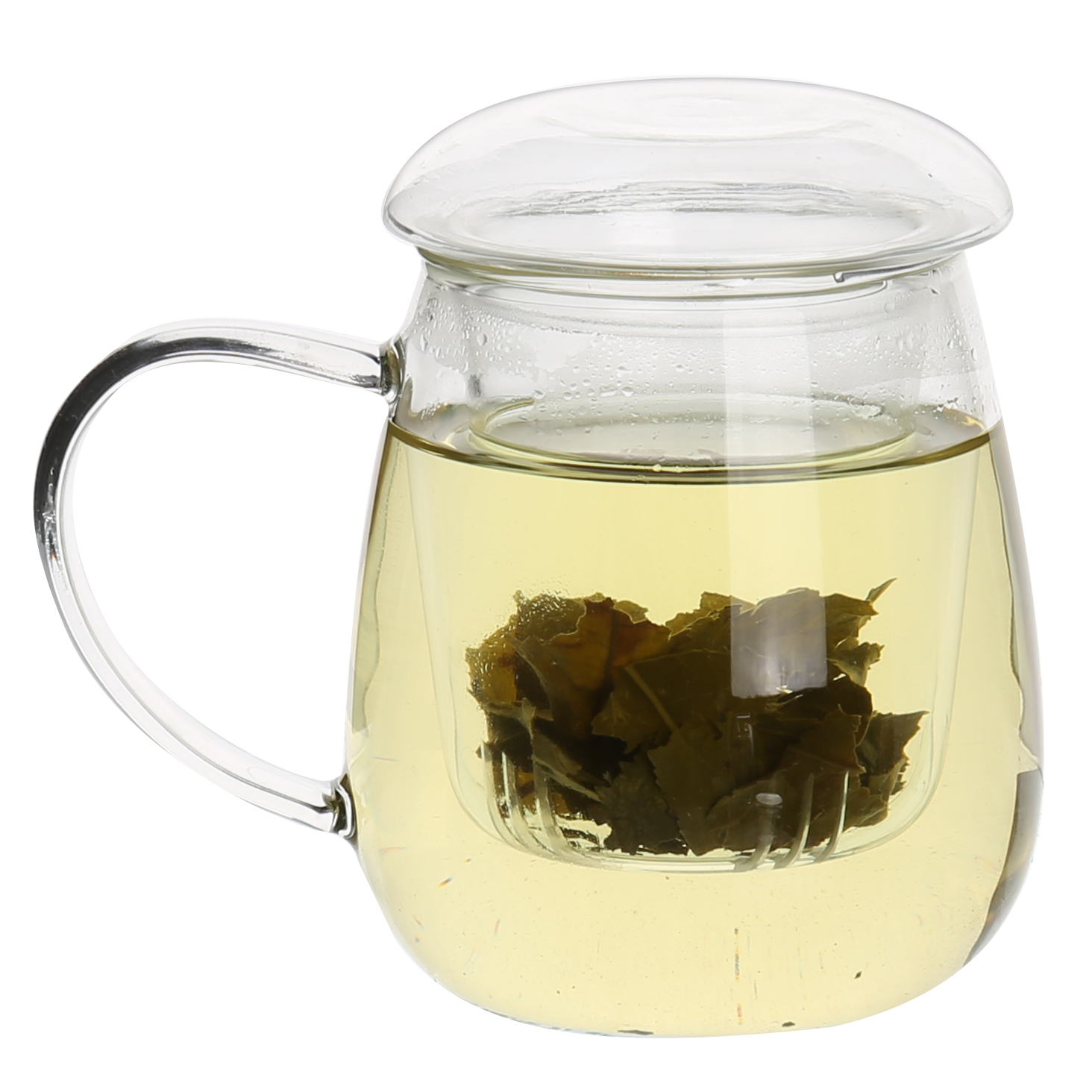 Glass Tea Infuser Mug