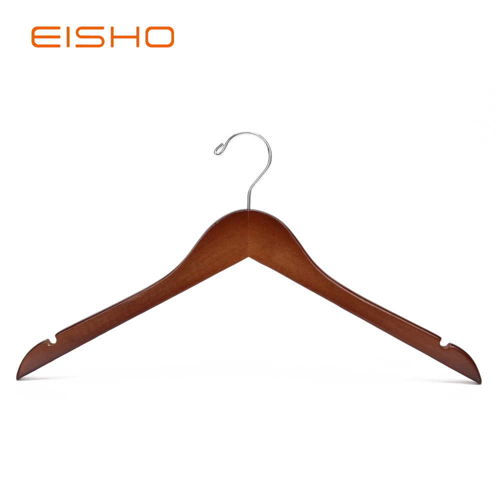 Ewh0014wood Hanger Shirt Hanger Coat Hanger Wooden Clothes Hanger
