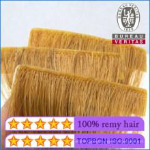 New Style Product 100% Human Hair Virgin Hair Hand Insert Strip Tape Hair Extension Remy Hair