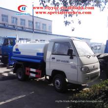 FOTON 2 ton water tank sprinkler truck mini water tank truck price sale