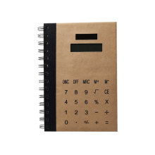 8 Digits Solar Power Coil Notebook Calculator
