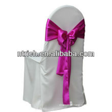 wedding polyester chair covers and sashes,CTV601,wholesale chair covers with self tie back sashes