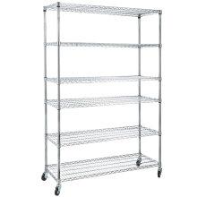 Sistemas de estantería de almacenamiento ajustable comercial de acero NSF
