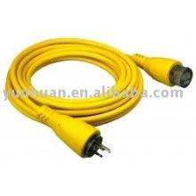 Corde marine rive cordon câble grade industriel fil électrique 30AMP adaptateur brancher prise de courant