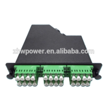 24 core rack-mount fiber optic distribution box with MPO patch cord
