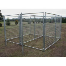 Folding Wire Dog Cat Pet Crate Cage Kennel