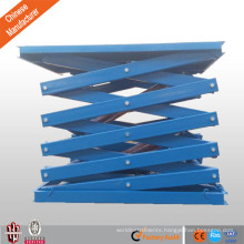 hydraulic scissor lift table/car scissor lift