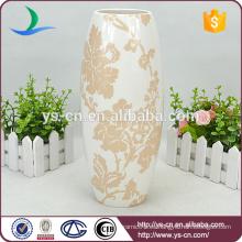 YSv0181-01 Florero de cerámica oriental Overglaze