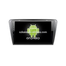Зеркало-ссылка на Android 4.4 ГЛОНАСС/GPS 1080p и двухъядерный автомобильный DVD для Шкода Октавия А7 с GPS/Bluetooth/ТВ/3Г