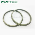 bronze PTFE wiper seal for hydraulic cylinder sealing GSZ