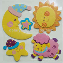 3D EVA foam sticker for kids