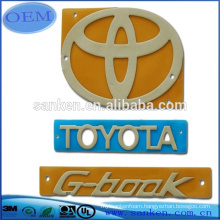 OEM Die Cutting Car Logo foam sticker tape plate sticker